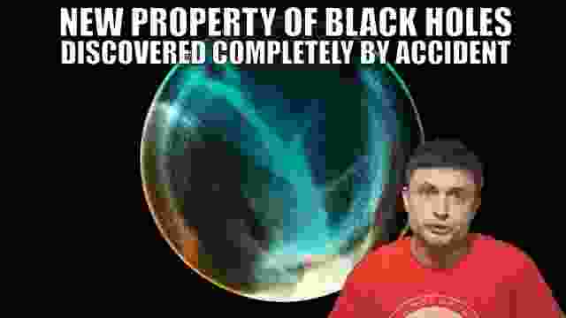 Accidental Discovery That Black Holes Have a New Property - Quantum Pressure